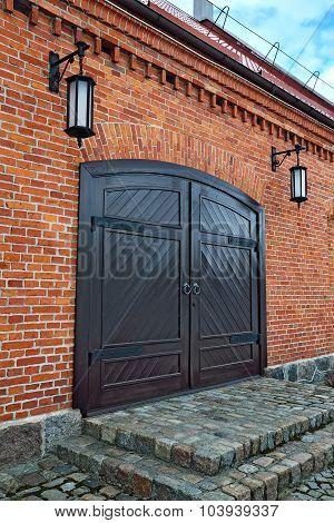 Old German Warehouse. Kaliningrad (former Koenigsberg), Russia