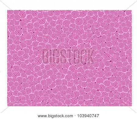 Pink Curl Texture