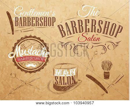 Set Barbershop Brown