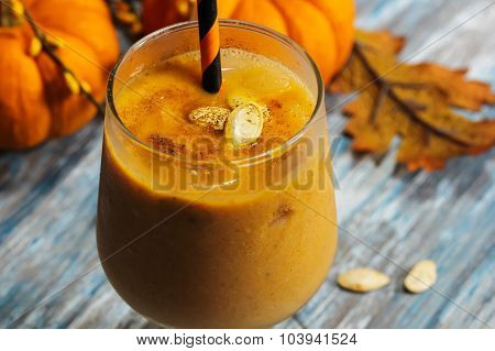Pumpkin Smoothie milkshake