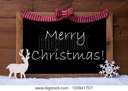 Card, Snowflake, Loop, Merry Christmas, Snow