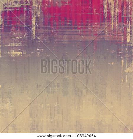 Old grunge template. With different color patterns: yellow (beige); gray; pink; purple (violet)