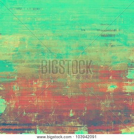 Vintage texture ideal for retro backgrounds. With different color patterns: brown; gray; red (orange); green