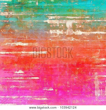 Vintage texture. With different color patterns: blue; red (orange); green; pink