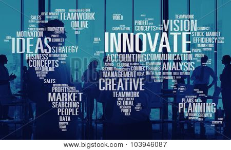 Innovate Inspiration Creativity Ideas Progress Concept
