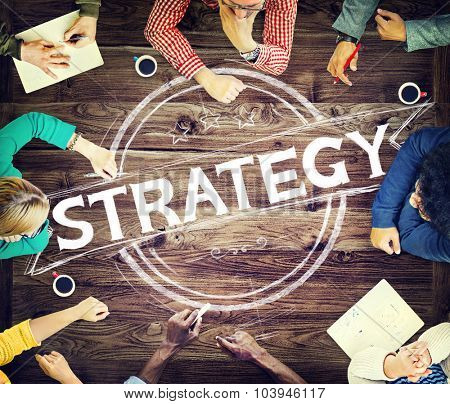Strategy Think Thinking Plan Planing Brainstorming Concept
