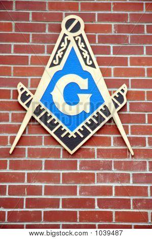 Mason Emblem On Wall