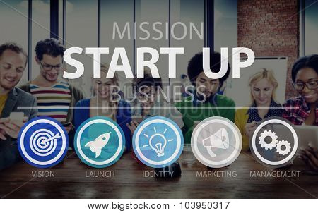 Start Up Opportunity Growth Success Chance Begin Concept