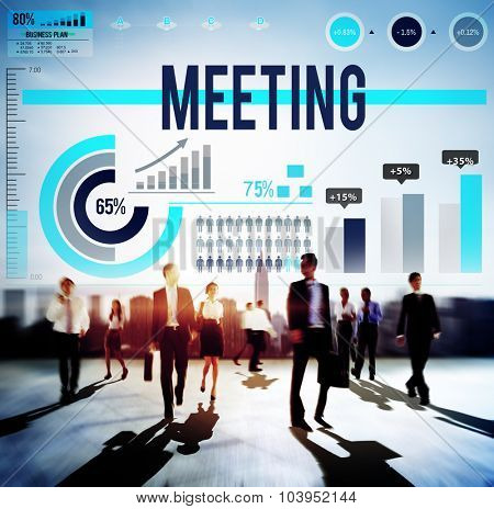 Corporate Meeting Conference Discussion Strategy Concept