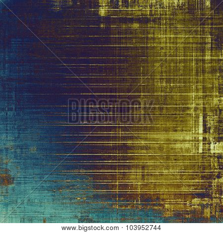 Grunge colorful background. With different color patterns: yellow (beige); brown; blue; purple (violet)