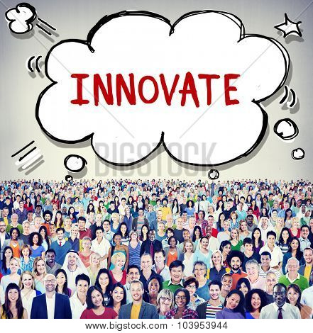Innovate Innovation Planning Inspiration Ideas Concept