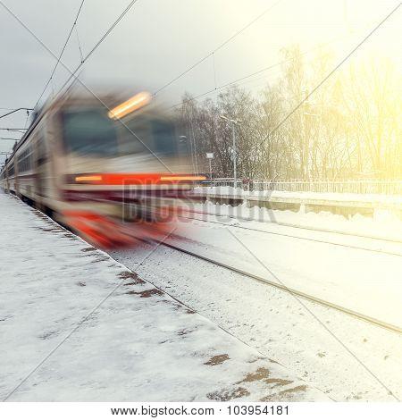 High-speed Train.