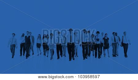 Green Business Businessman Team Teamwork Concept