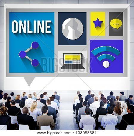 Online Network Connection Internet Concept