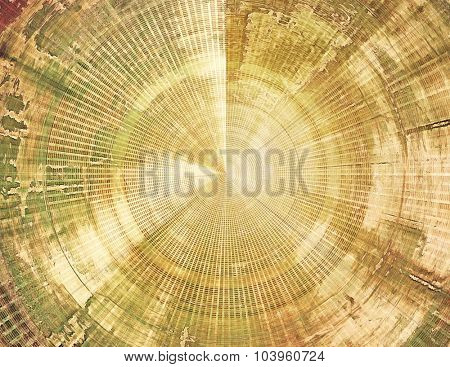 Old abstract grunge background for creative designed textures. With different color patterns: yellow (beige); brown; gray; green