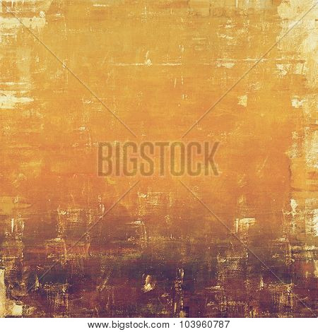Old texture or antique background. With different color patterns: yellow (beige); brown; red (orange)