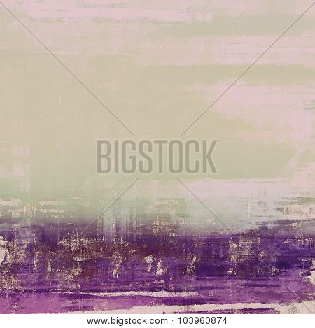 Grunge, vintage old background. With different color patterns: brown; gray; pink; purple (violet)