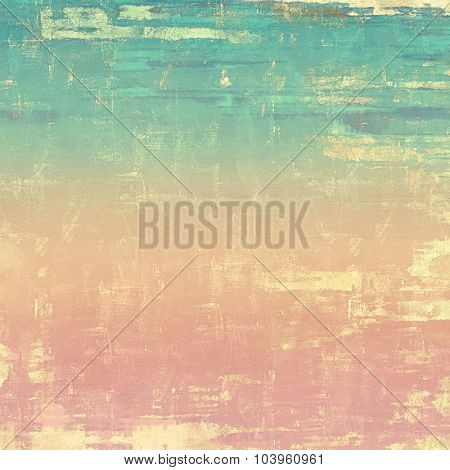 Retro background with grunge texture. With different color patterns: yellow (beige); blue; pink; cyan