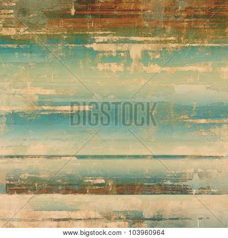Grunge texture. With different color patterns: yellow (beige); brown; blue; green