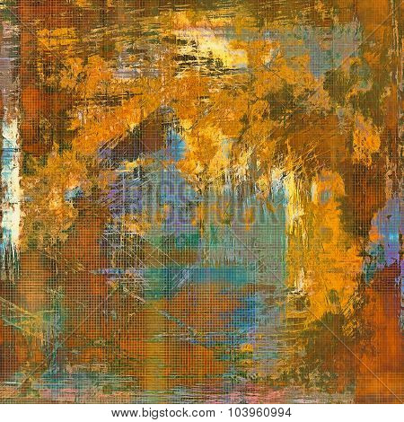 Retro texture. With different color patterns: yellow (beige); brown; gray; blue