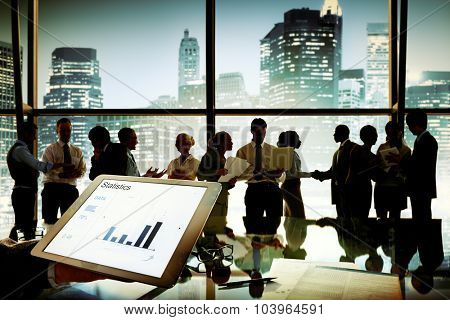 Business People Communication Planning Marketing Office Concept