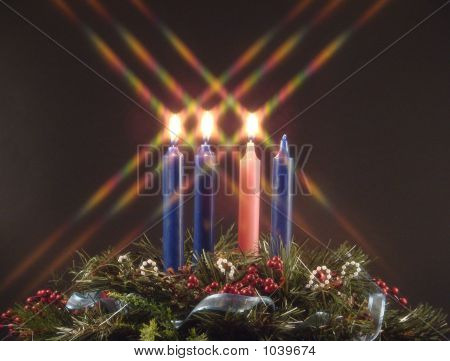 Advent Candle Of Joy
