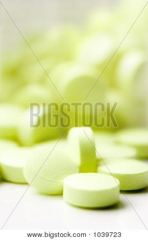 Pastillas verdes