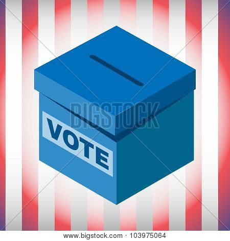 Voting Box Usa Election 2016