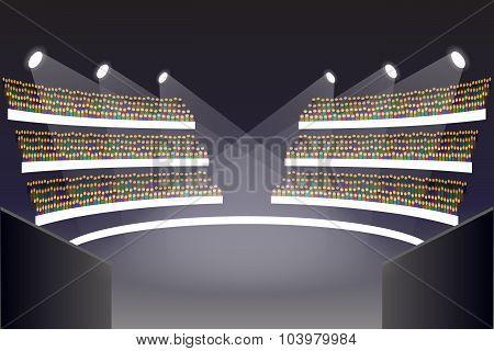 Coliseum arena stage