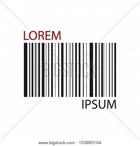 Black barcode