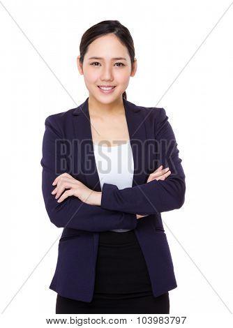 Asian young businesswoman portrait