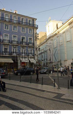 Praca De Camoes In Lisbon