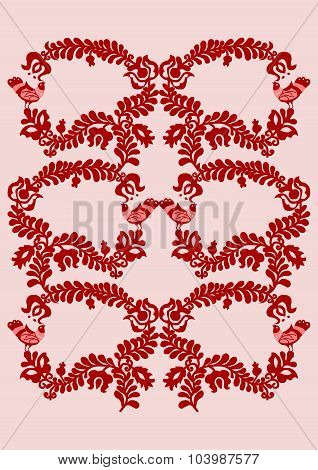 Embroidery pattern 4