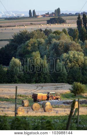 Rural Scene In France