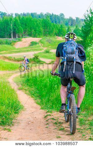Biking On Impassability To A Nice Summer Day