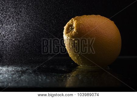 Orange In Spray