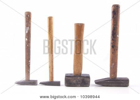 Old Rusty Hammers