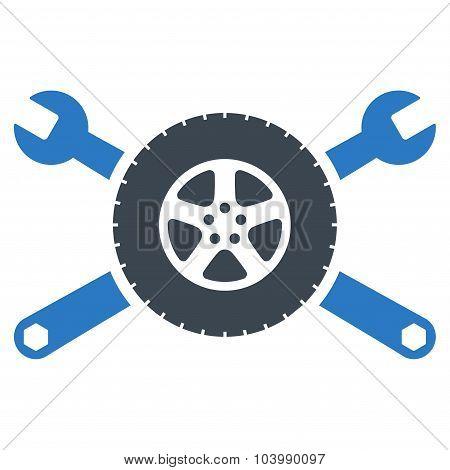 Tire Service Icon