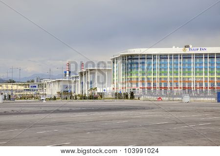 Sochi. Adler. Hotel