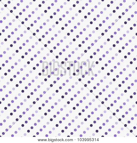 Purple Multicolored And White Polka Dot  Abstract Design Tile Pattern Repeat Background