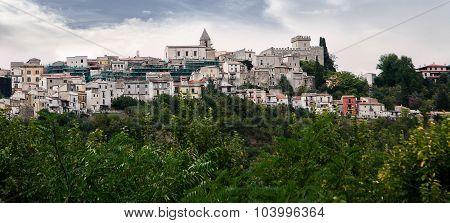 Bussi sul Tirino in Abruzzo (Italy)