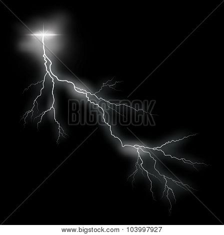 Storm Lightning Vector