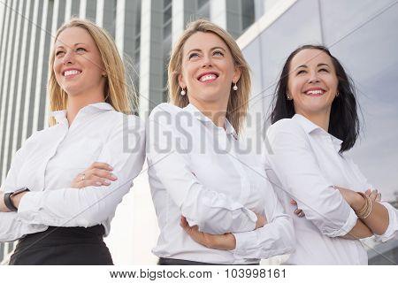 Business women standing