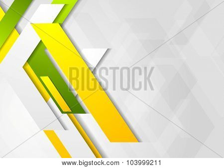 Geometric bright abstract modern design