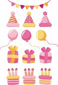 pic of party hats  - Birthday - JPG