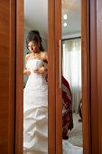 Charges The Bride And Dress Up Wedding Gown