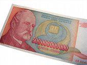 Hyper Inflation Billionaire poster