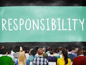 image of trustworthiness  - Responsibility Duty Obligation Job Trustworthy Concept - JPG
