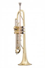 picture of wind instrument  - classical music wind instrument trumpet - JPG