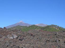 stock photo of magma  - Mountains - JPG